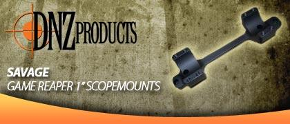 DNZ Game Reaper Savage 1 Inch Scope Mounts