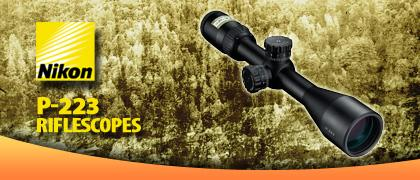 Nikon P-223 Riflescopes