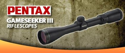 Pentax Gameseeker III Rifle Scopes
