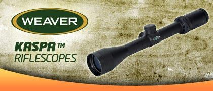 Weaver Kaspa Hunting Rifle Scopes