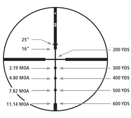 Redfield 3-9x52 Revenge Rifle Scope