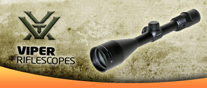 Vortex Viper Rifle Scopes