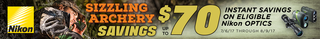 Nikon's Sizzling Archery Savings