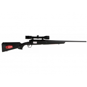 Savage 57093 Axis II XP with Scope Bolt 6.5 Creedmoor 22 4+1 Synthetic Black Stk Blued in.