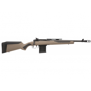 Savage 57136 10|110 Scout Bolt 223 Remington|5.56 NATO 16.5 10+1 AccuFit FDE Stk Black in.