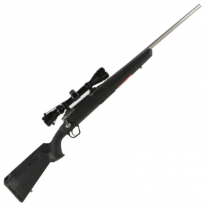 Savage 57289 Axis XP with Scope Bolt 6.5 Creedmoor 22 4+1 Synthetic Black Stk Stainless Steel in.