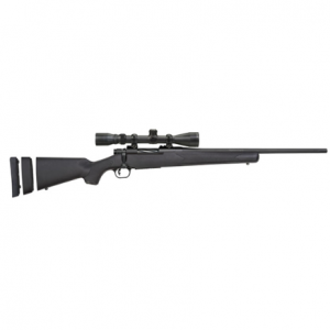 Mossberg 28027 Patriot Youth Super Bantam with Scope Bolt 6.5 Creedmoor 20 5+1 Synthetic Black Stk Blued in.