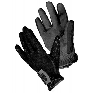 Boyt Harness 10535 Shotgunner Gloves Elastic/Suede Black X-Small