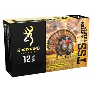 Browning Ammo B193921237 TSS Tungsten 12 Gauge 3in. 1 3/4 oz 7 Shot 5 Bx/ 10 Cs