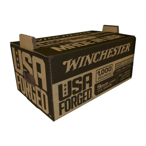 Winchester Ammunition USA FRGD 9MM 115GR FMJ 1000RD