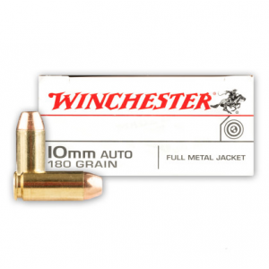 Winchester Ammo USA10MM USA Handgun 10mm 180 GR 50 Bx| 10 Cs