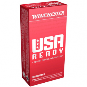 Winchester Ammo RED9 USA USA 9mm 115 GR Full Metal Jacket 50 Bx| 10 Cs