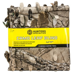 Hunters Specialties 07331 Camo Leaf Blind Realtree Xtra Spun-Bonded Polyester 56in. x 30'