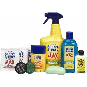 Hsp Scent A Way Max Odorless 10pc Kit