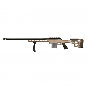 T|C Arms 11744 Performance Center LRR Bolt 6.5 Creedmoor 24 10+1 Aluminum Chassis Flat Dark Earth Stk Flat Dark Earth|Black in.