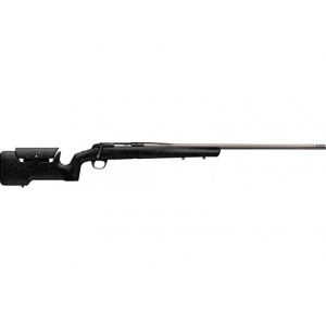 Browning 035438282 X-Bolt Max Range Bolt 6.5 Creedmoor 26 4+1 Black and Gray Textured Finish Stk Stainless Steel in.