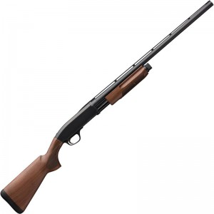 Browning 012286604 BPS Field 20 Gauge 28in. 4+1 3in. Matte Blued Wood Fixed Checkered Stock Right Hand