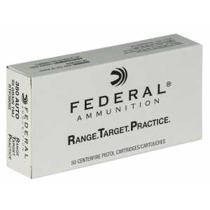 Federal RTP38095 Range and Target 380 Automatic Colt Pistol (ACP) 95 GR Full Metal Jacket 50 Bx/ 20 Cs