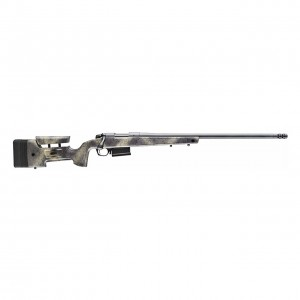 Bergara Rifles B-14 HMR Wilderness 6.5 Creedmoor 5+1 24in. Woodland Camo Molded w/ Mini-Chassis Stock Matte Blued Right Hand