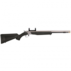 CVA PR2110SM Wolf Break Open (Inline) 50 Black Powder 24.0 Dead-On Mount Blk Synthetic Stk in.