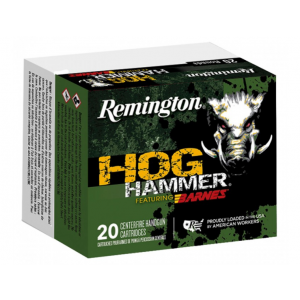 Remington Ammunition Hog Hammer Handgun 41 Remington Magnum 180 GR Barnes XPB 20 Bx/ 10 Cs