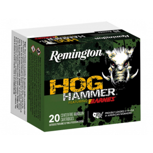 Remington Ammunition Hog Hammer Handgun 454 Casull 250 GR Barnes XPB 20 Bx/ 10 Cs