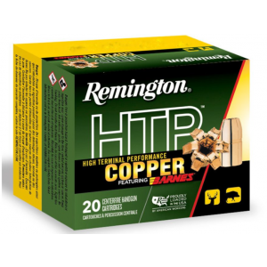 Remington Ammunition HTP Copper Handgun 357 Magnum 140 GR Barnes XPB 20 Bx/ 10 Cs