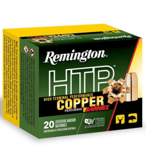 Remington Ammunition HTP Copper Handgun 41 Remington Magnum 180 GR Barnes XPB 20 Bx/ 10 Cs