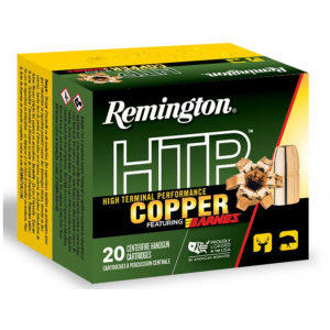 Remington Ammunition HTP Copper Handgun 45 Colt (LC) 200 GR Barnes XPB 20 Bx/ 10 Cs