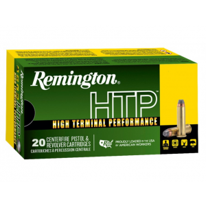 Remington Ammunition RTP38S10A High Terminal Performance  38 Special +P 110 GR Semi-Jacketed Hollow Point 20 Bx| 25 Cs