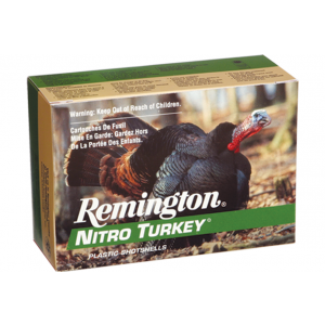 Remington Ammunition NT12H4A Nitro Turkey 12 Gauge 3 1-7/8 oz 4 Shot 5 Bx/ 20 Cs in.