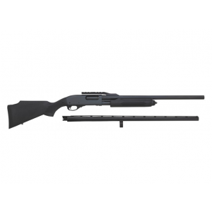 Remington Firearms 81280 870 Express Combo Pump 12 Gauge 28/23 in.  4+1 Black Synthetic Stock Blued in.