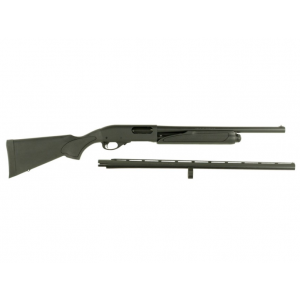 Remington Firearms 81291 870 Express Combo Pump 12 Gauge 26/18.5 in.  4+1 Black Synthetic Stock Blued in.