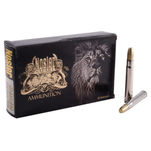 Nosler 40618 Safari 416 Remington Magnum 400 GR Nosler Solid 20 Bx| 10 Cs