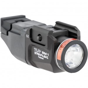 Streamlight 69441 TLR RM 1 White 500 Lumens CR123A Lithium Battery Black Aluminum
