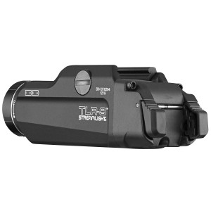 Streamlight 69464 TLR-9 Flex with High/Low Switch 1000 Lumens CR123A Lithium Battery Black Aluminum