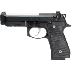 Beretta USA J92G9LTT 92G Elite LTT 9mm Luger Single|Double 4.7 10+1 Black Polymer Grip Black Steel Frame Black Slide in.