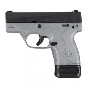 Beretta USA JMN9S95 BU9 Nano 9mm Luger Single 3 6+1|8+1 Gray Polymer Grip|Frame Black Aluminum Alloy Slide in.