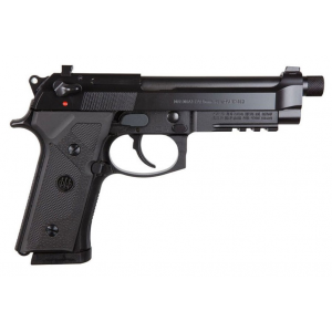 Beretta USA J92M9A30 M9A3 Italy Type F 9mm Luger Single|Double 5.2 10+1 NS Black Polymer Grip Black Slide in.