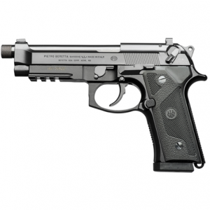 Beretta USA J92M9A3GM0 M9A3 Italy Type G 9mm Luger Single|Double 5.2 17+1 NS Black Polymer Grip Black Slide in.