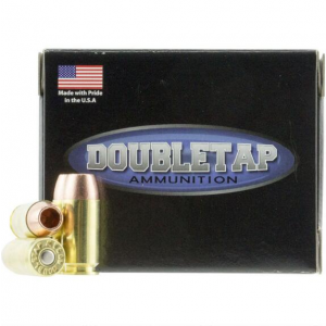 DoubleTap Ammunition 40135CE DT Defense 40 S&W 135 GR Jacketed Hollow Point 20 Bx| 50 Cs