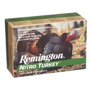 Remington Nitro Turkey 12 Gauge 6 Shot 10rd Ammo