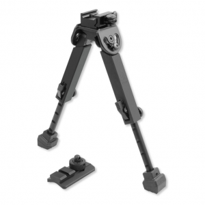 Leapers Inc. Rubber Armored QD Bipod, Height 6.0 in. -8.5 in.