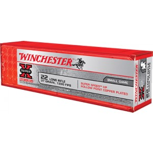 Winchester Super X 22 Long Rifle 100rd Ammo
