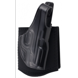 Galco AG652B Ankle Glove Holster Fits Ankles up to 13 S&W M&P 9|40 Steerhide Black in.