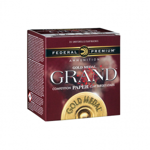 Federal GMT1178 Gold Medal Paper 12 Gauge 2.75 1-1|8 oz 8 Shot 25 Bx| 10 in.