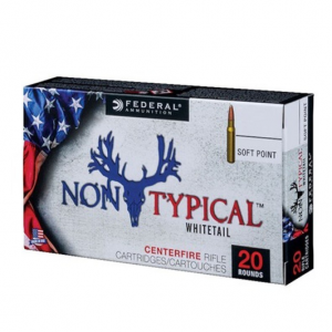 Federal 270DT150 Non-Typical Whitetail 270 Winchester 150 GR Soft Point 20 Bx| 10 Cs