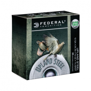 Federal USH1275 Field & Range 12 Gauge 2.75 1-1/8 oz 7.5 Shot 25 Bx/ 10 Cs in.