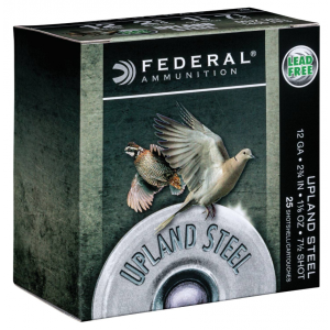 Federal USH206 Field & Range 20 Gauge 2.75 7/8 oz 6 Shot 25 Bx/ 10 Cs in.