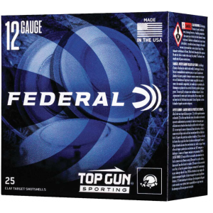 Federal TGS12878 Top Gun Sporting 12 Gauge 2.75 1 oz 8 Shot 25 Bx/ 10 Cs in.